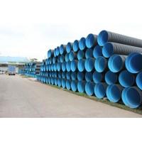 广东厂家直供HDPE双壁波纹管 市政排污管