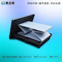 江苏围板箱生产厂家800*600mm双层吸塑围板箱