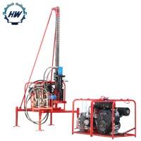 山东恒旺小型潜孔钻机 可拆卸型山地钻机地形爆破孔潜孔钻机