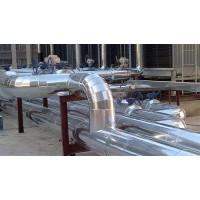 岩棉毡管道设备保温施工玻璃棉管铁皮保温安装
