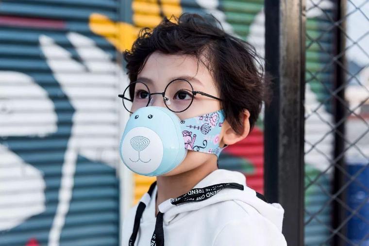 儿童KN95级石墨烯防护口罩 呵护孩子的健康