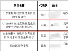 """""""小学生研究癌症获奖"""",官方回应:系研究员之子,已成立调查组"""