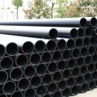 PE纯原料直埋管 DN50/63/75穿线管 小区外网电缆管