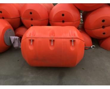 水面托浮塑料管道浮筒