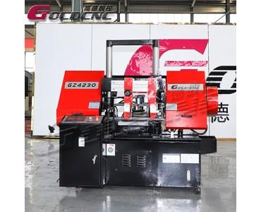 高德数控GZ4230金属带锯床 液压自动送料 可成捆锯切