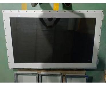 长沙供应化工工矿用50-100寸防爆显示器