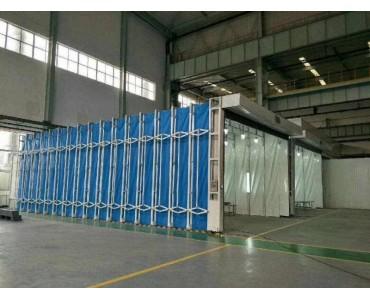 多功能移动伸缩喷漆房 在行业中的应用