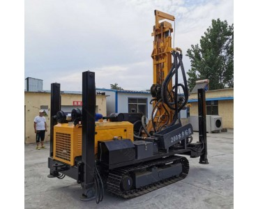 履带式气动水井钻机 全自动液压气动水井钻机厂家直销