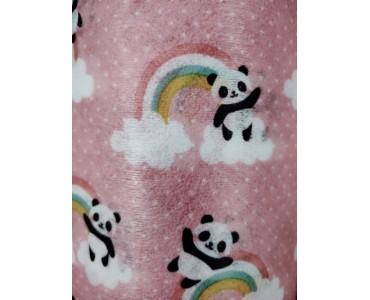 福建厂家 粉色熊猫水刺布 印花水刺布 可来图定做