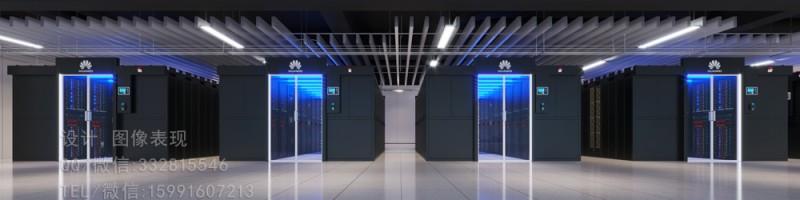 临沂360度全景图制作 机房办公室 监控中心 会议室效果图