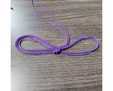 福建厂家供应 紫色耳线 口罩专用 可定制