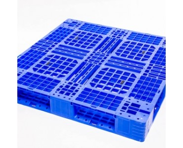 网格川字塑料托盘 支持货架塑胶托盘 塑料卡板仓库物流垫仓板